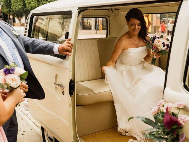La boda de Carlos y Julia en Santiago De La Ribera, Murcia 31
