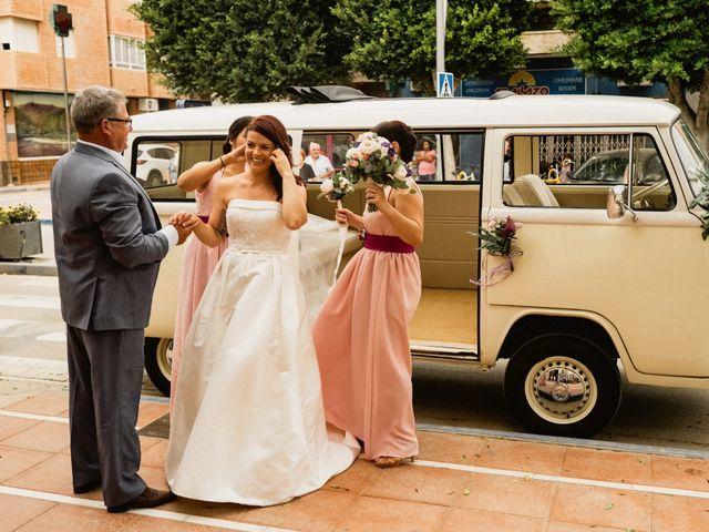 La boda de Carlos y Julia en Santiago De La Ribera, Murcia 32