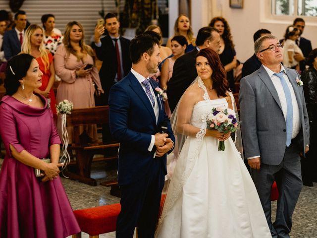 La boda de Carlos y Julia en Santiago De La Ribera, Murcia 33
