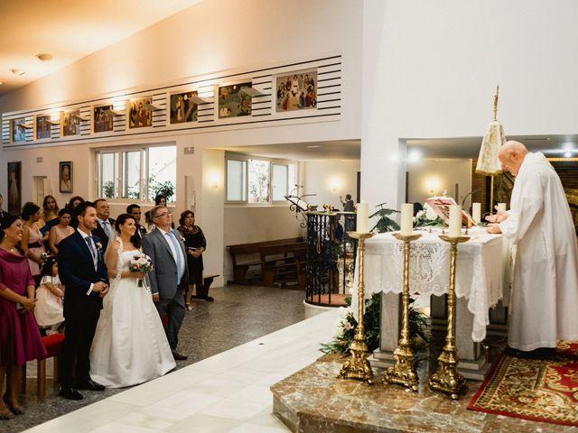 La boda de Carlos y Julia en Santiago De La Ribera, Murcia 34