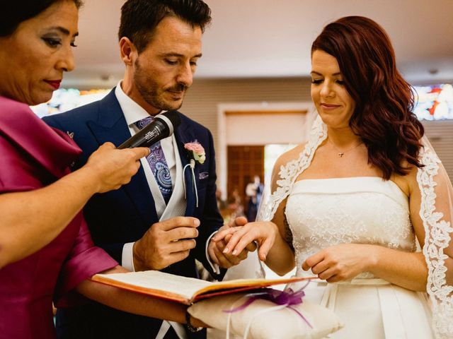 La boda de Carlos y Julia en Santiago De La Ribera, Murcia 35