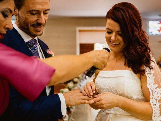 La boda de Carlos y Julia en Santiago De La Ribera, Murcia 36