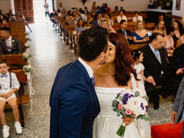 La boda de Carlos y Julia en Santiago De La Ribera, Murcia 38