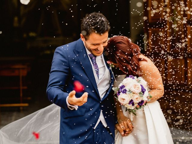 La boda de Carlos y Julia en Santiago De La Ribera, Murcia 39