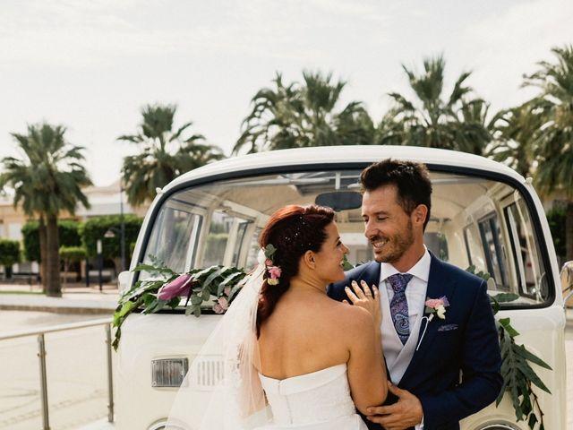 La boda de Carlos y Julia en Santiago De La Ribera, Murcia 42