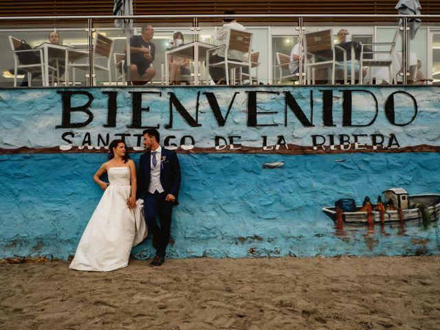 La boda de Carlos y Julia en Santiago De La Ribera, Murcia 72