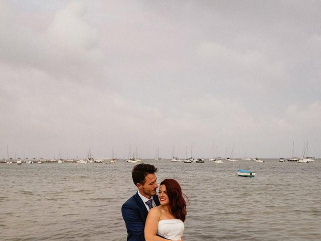 La boda de Carlos y Julia en Santiago De La Ribera, Murcia 74