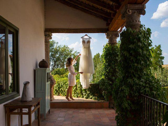 La boda de David y Carolina en Segovia, Segovia 17