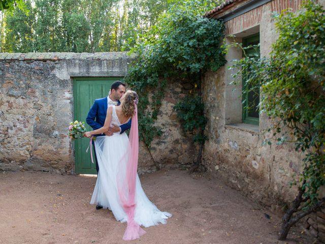 La boda de David y Carolina en Segovia, Segovia 38