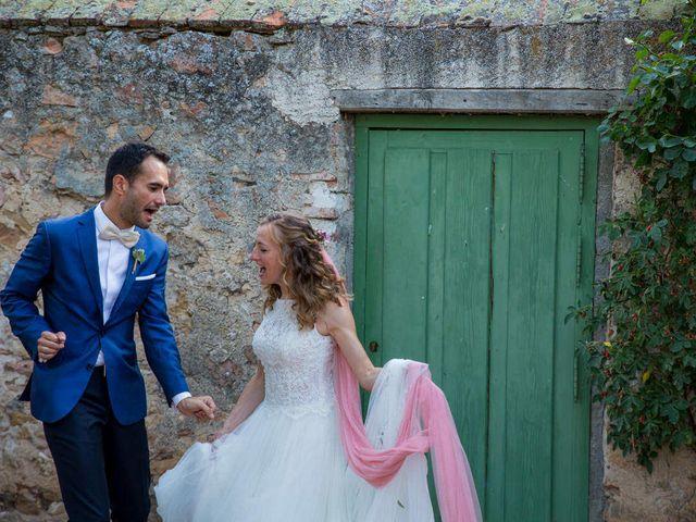La boda de David y Carolina en Segovia, Segovia 1