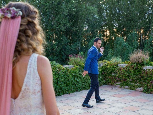 La boda de David y Carolina en Segovia, Segovia 44