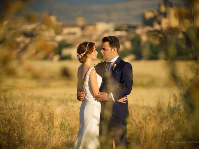 La boda de David y Amanda en Segovia, Segovia 14
