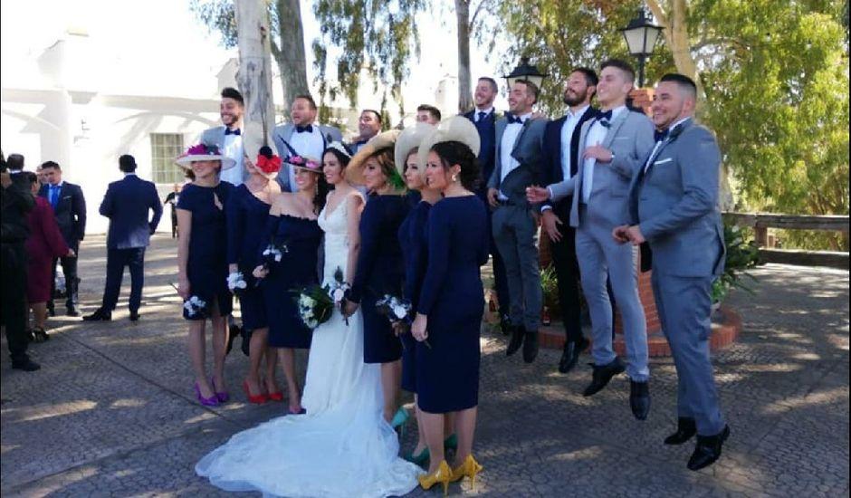 La boda de David y Estefanía en Cantillana, Sevilla