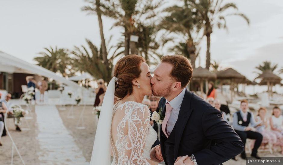 La boda de Bahry y Hayley en La Manga Del Mar Menor, Murcia