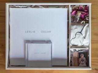 La boda de Leslie y Óscar 1