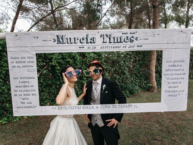 La boda de Jona y Gala en Murcia, Murcia 26