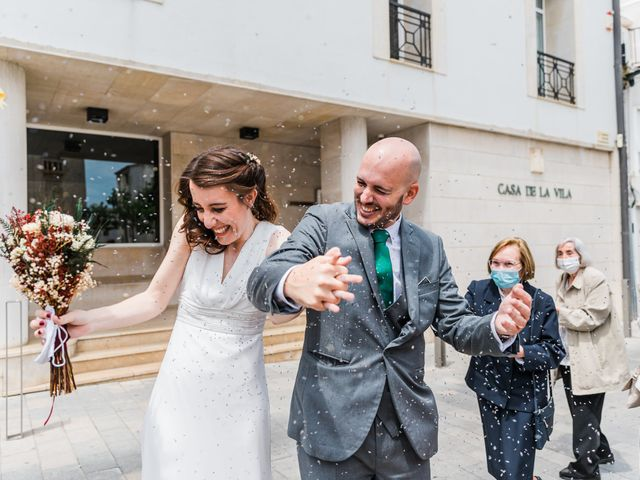 La boda de Sam y Nuria en L' Escala, Girona 3