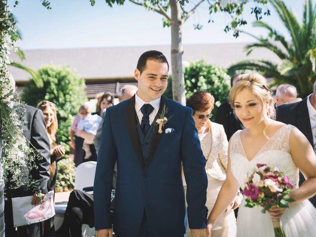 La boda de Leslie y Óscar