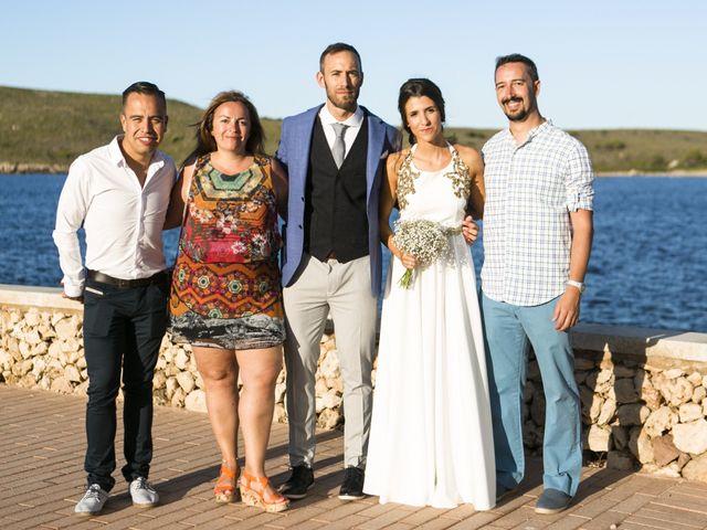 La boda de Sergio y Amanda en Fornells, Islas Baleares 7