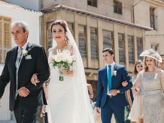 La boda de Bernardo y Mª del Mar en Alpera, Albacete 8