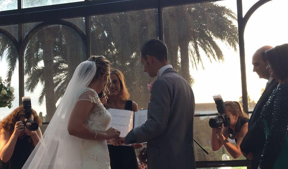 La boda de laura y alejandro  en El Puig, Valencia