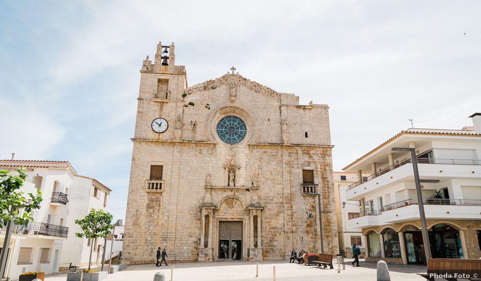 La boda de Sam y Nuria en L' Escala, Girona