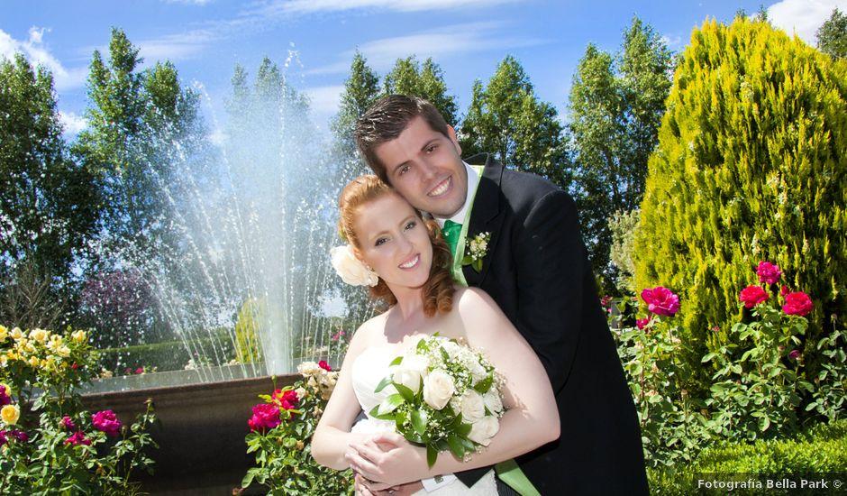 La boda de Carlos y Estela en Yunclillos, Toledo