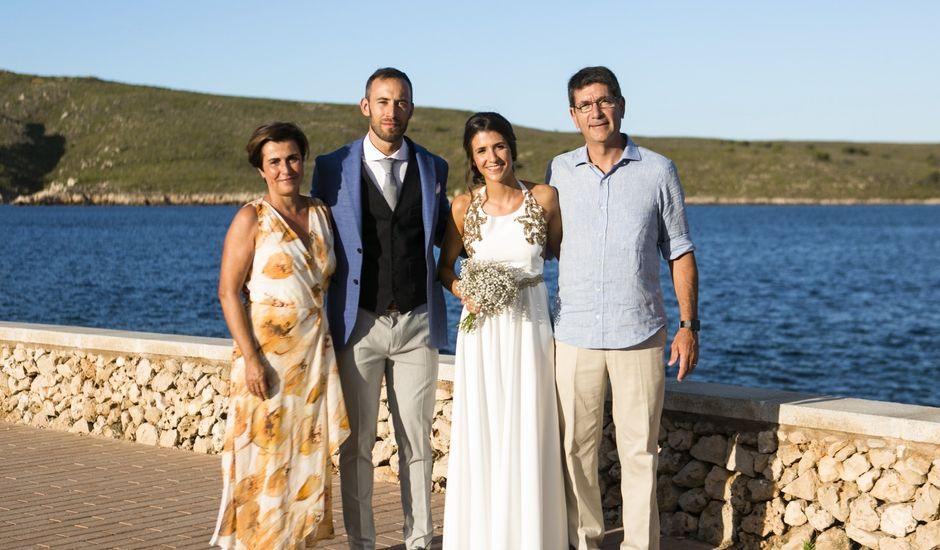 La boda de Sergio y Amanda en Fornells, Islas Baleares