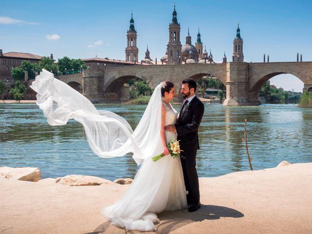 La boda de Alberto Carlos y Anabel en Zaragoza, Zaragoza 13