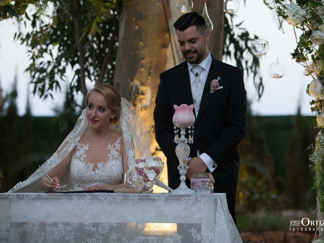 La boda de Albert y Montse en Almería, Almería 93