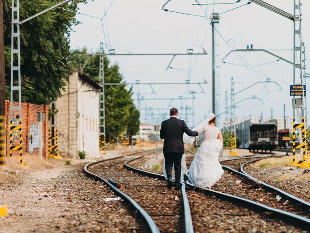 La boda de Alberto y Raquel en Simancas, Valladolid 45