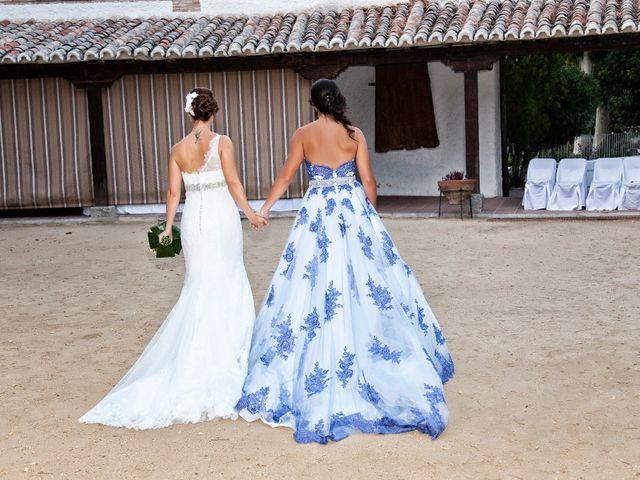 La boda de Silvia y Ana en Cubas De La Sagra, Madrid 25
