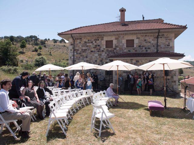 La boda de Albano y Bárbara en Moncalvillo, Burgos 4