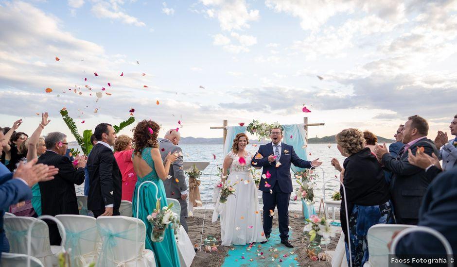 La boda de David y Noelia en La Manga Del Mar Menor, Murcia