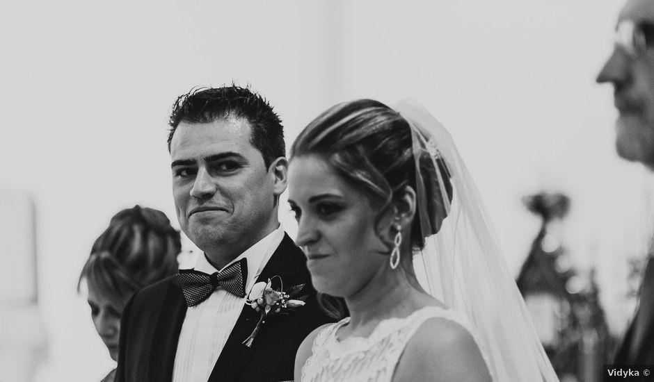 La boda de Alberto y Raquel en Simancas, Valladolid