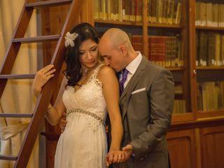 La boda de Isabel Chan y Cesar Delgado