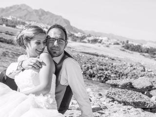 La boda de Santi y Manolo