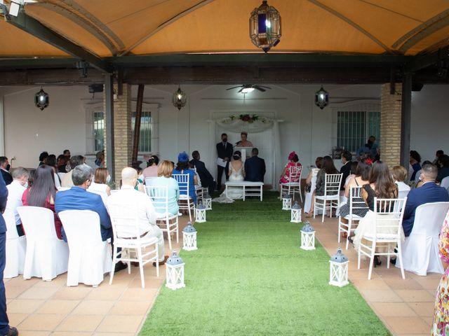 La boda de Jesús y Davinia en San Fernando, Cádiz 6