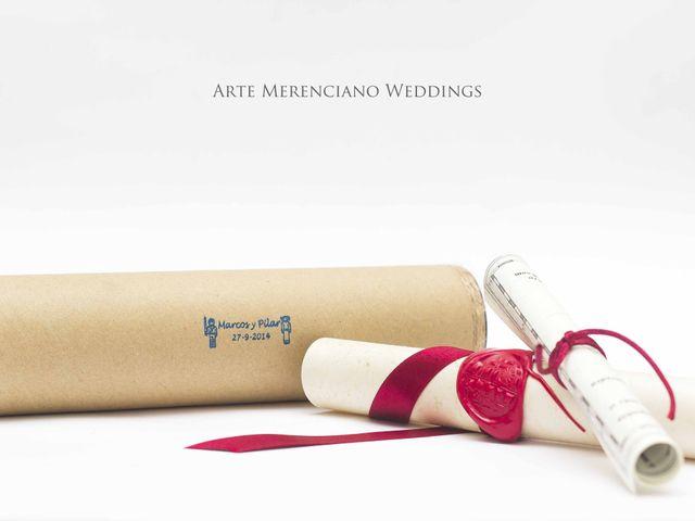 La boda de Marcos y Pilar en Valdepeñas, Ciudad Real 6