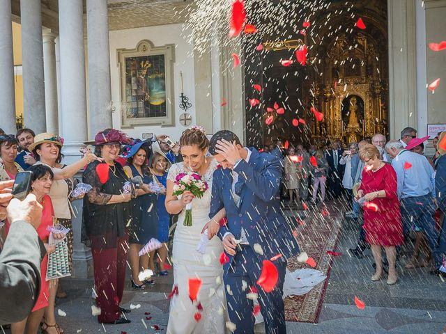 La boda de Iván y Ana María en Villanueva Del Ariscal, Sevilla 34