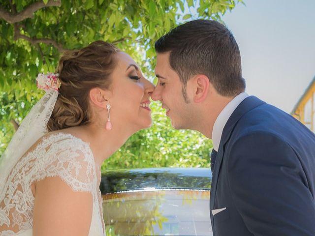 La boda de Iván y Ana María en Villanueva Del Ariscal, Sevilla 39