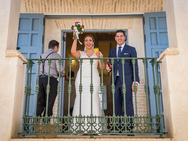 La boda de Iván y Ana María en Villanueva Del Ariscal, Sevilla 52