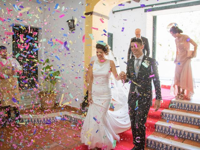 La boda de Sergio y Alba en Algodonales, Cádiz 31