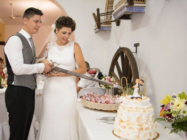 La boda de Sergio y Alba en Algodonales, Cádiz 33
