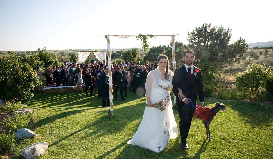 La boda de David y María en San Agustin De Guadalix, Madrid