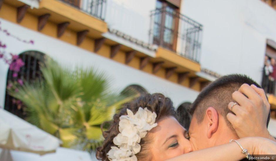 La boda de Sergio y Alba en Algodonales, Cádiz