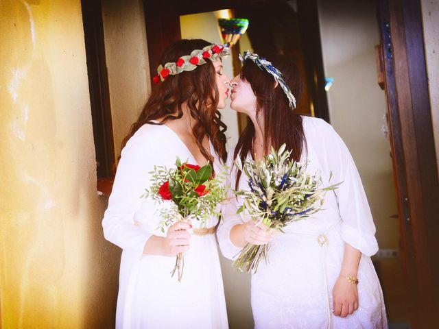 La boda de Sara y Lourdes en Hervas, Cáceres 53