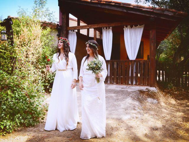 La boda de Sara y Lourdes en Hervas, Cáceres 54