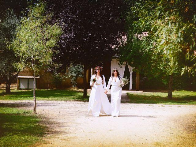La boda de Sara y Lourdes en Hervas, Cáceres 55