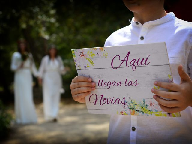La boda de Sara y Lourdes en Hervas, Cáceres 56